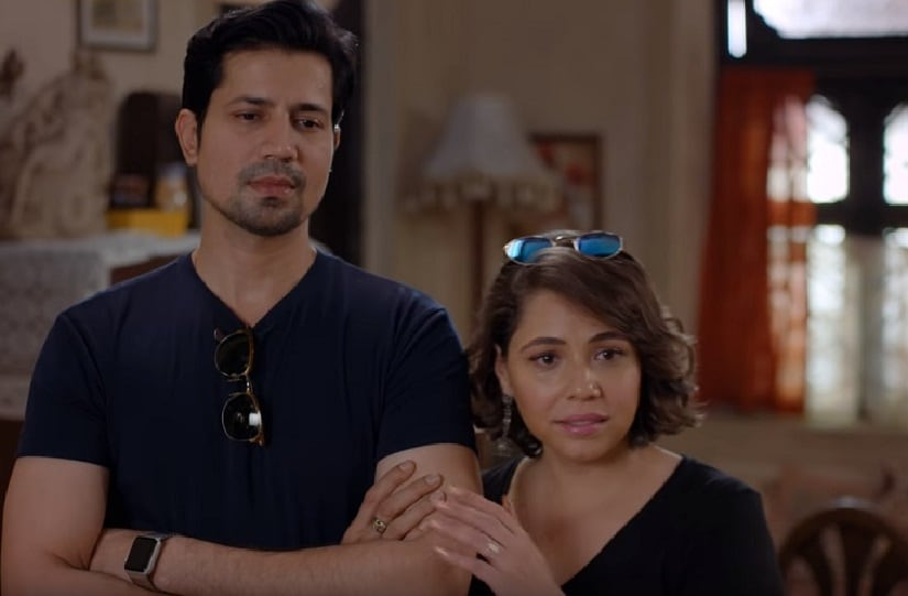 Sumeet Vyas and Maanvi Gagroo. Screenshot from YouTube