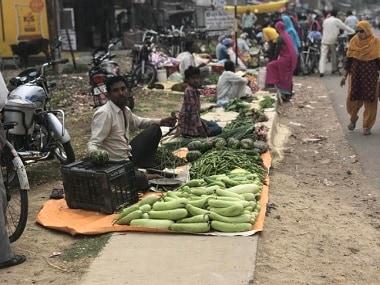 Vegetable vendors in Rahi village of Rae Bareli district. Firstpost/Ajay Singh