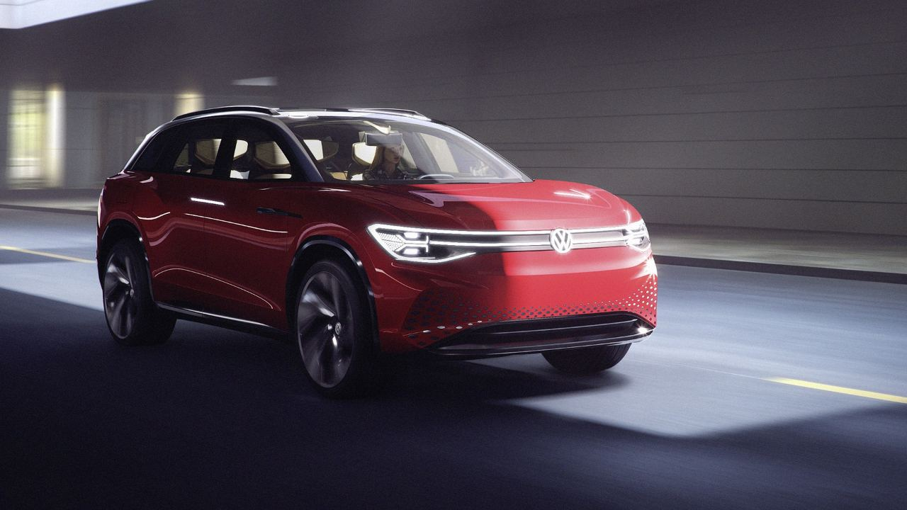 Volkswagen unveils fully-electric SUV ID. ROOMZZ to compete with Teslas Model X