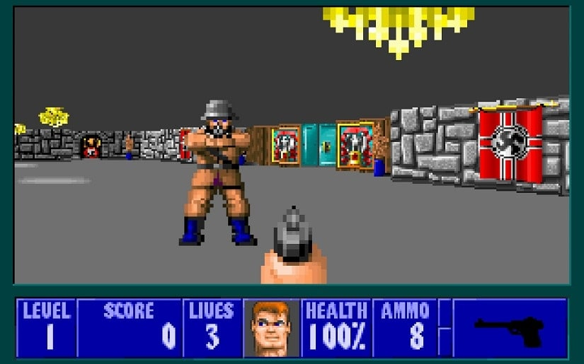 From Wolf 3D to Wolfenstein