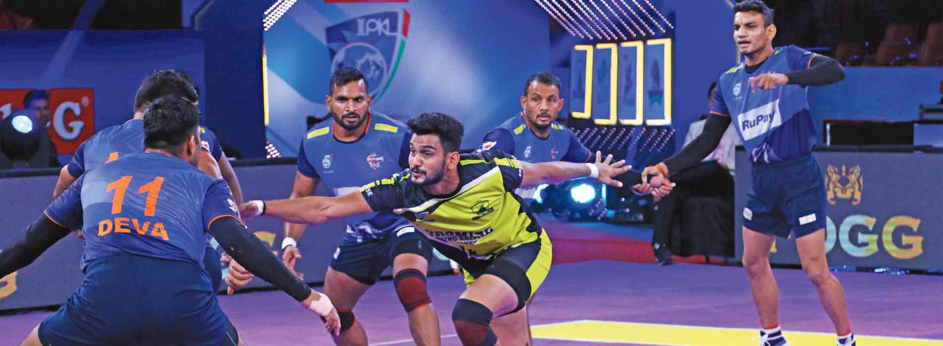 Kabaddi league gets a shake up