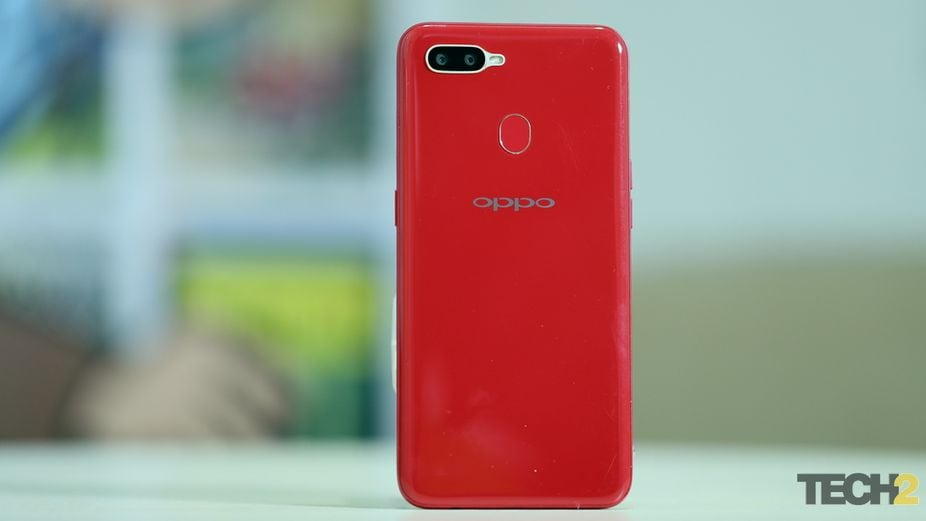 Oppo could have taken a leaf out of Xiaomi's book and put in a two-tone colour gradient design.