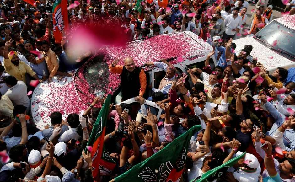 The saffron party — led by the Prime Minister Narendra Modi-BJP president Amit Shah duo — has secured 302 seats in the 17th Lok Sabha. Reuters