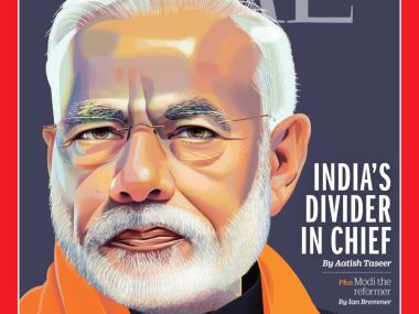 BJP dismisses Time magazines cover story Indias Divider-in-Chief as work of a Pakistani citizen