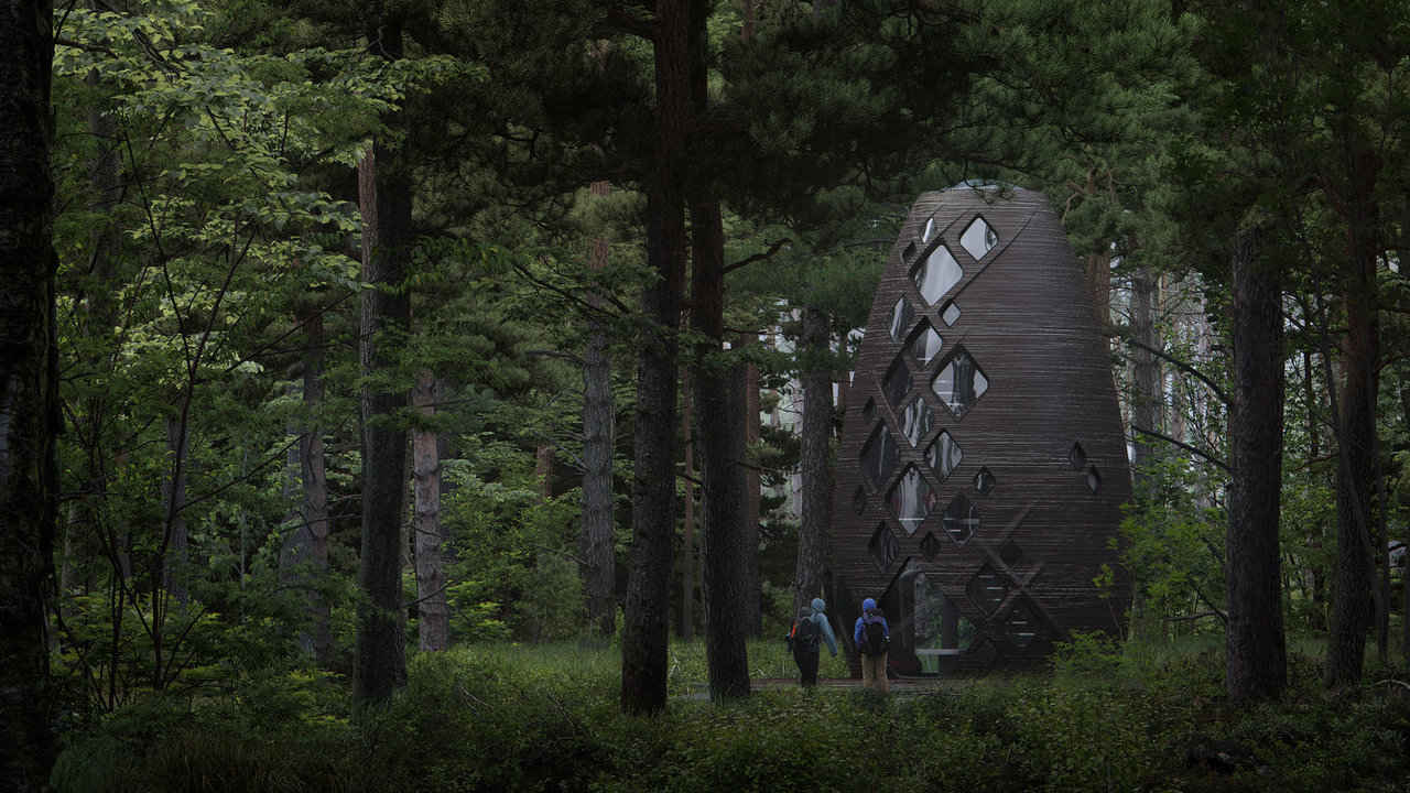 TERA, the eco-friendly housing initiative taken by Al Spacefactory. image credit: