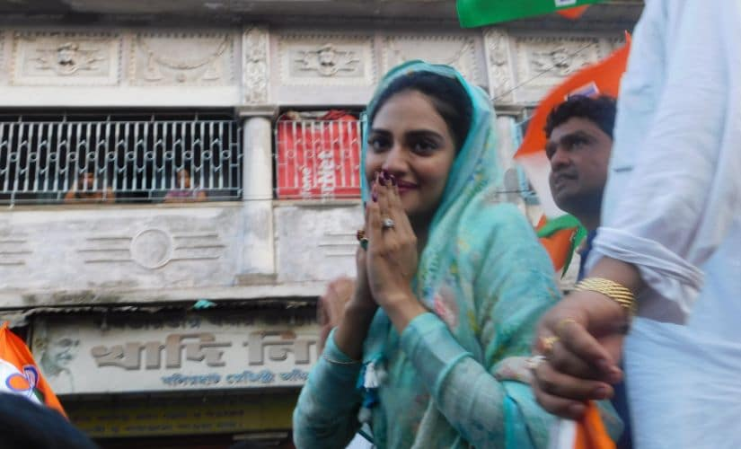 Bengal Votes: In Basirhat, TMC banks on novice Nusrat Jahan, a Muslim without hardcore communal baggage, but lacks real connect with voters