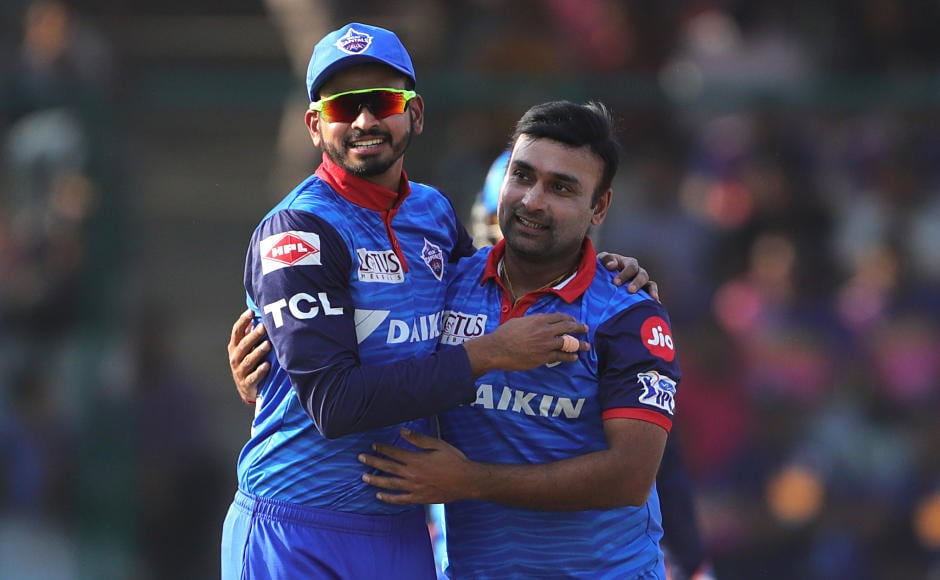 Amit Mishra finished with a match-winning spell of 3-17 as his team Delhi Capitals defeated Rajasthan Royals by five wickets in the IPL on Saturday. As a result, RR were knocked out of the tournament. Sportzpics