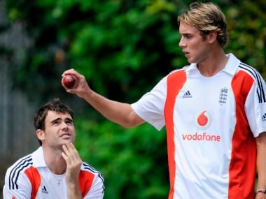 'My god, she's Beautiful', remarked England's James Anderson on seeing Stuart Broad for first time