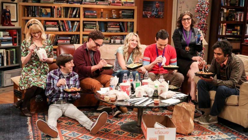 The Big Bang Theory. Image via Twitter