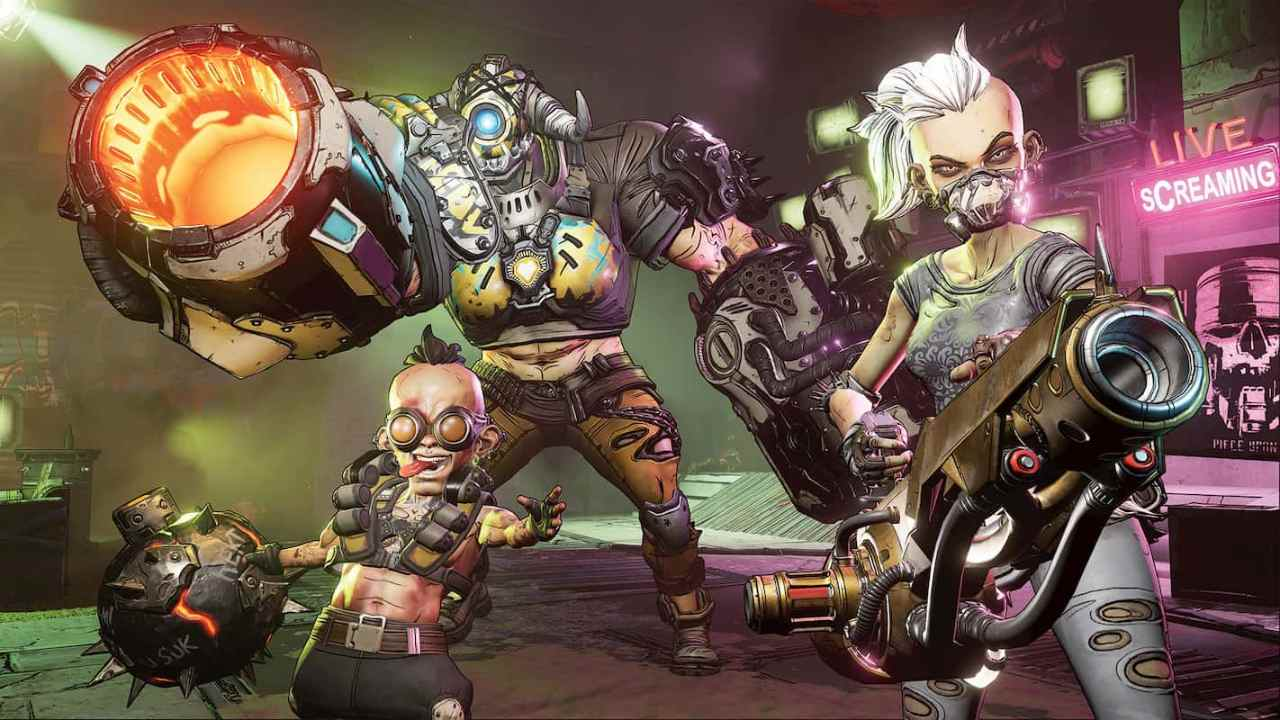 Borderlands 3 gameplay revealed: Vault Hunters, weapons, environment and more