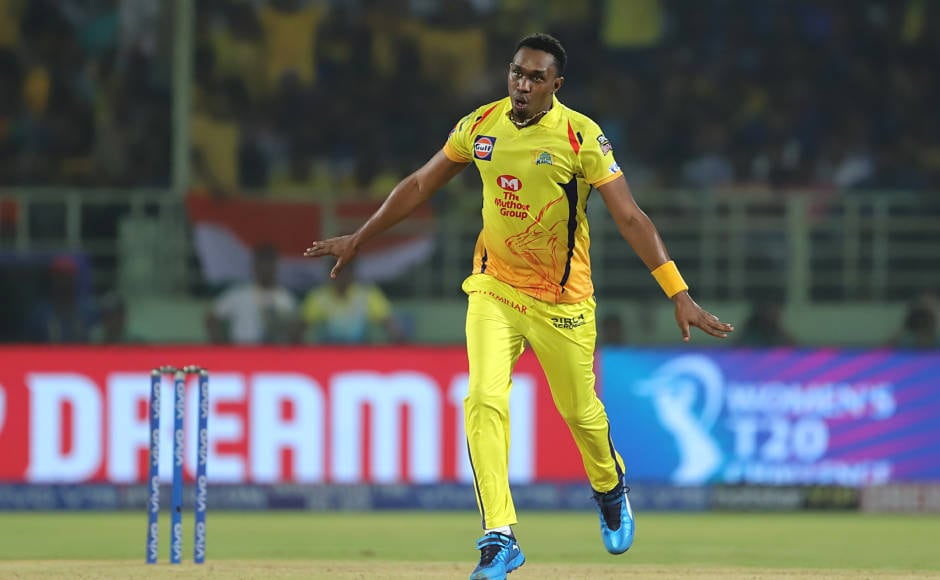 CSK's Dwayne Bravo finished with an economical spell of 2/19 from four overs (Econ 4.75). This was the best economy rate by any bowler during the game. Bravo took the wickets of Colin Munro and Rishabh Pant. Sportzpics