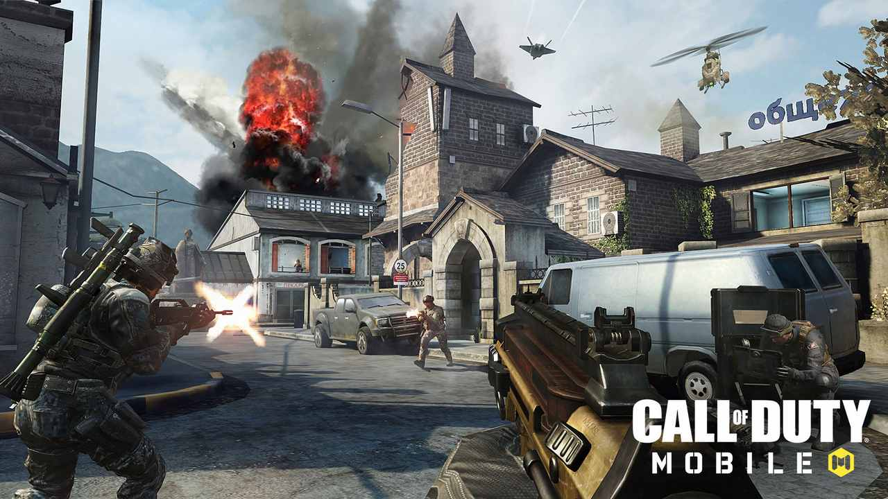 Call of Duty Mobile released for Android phones