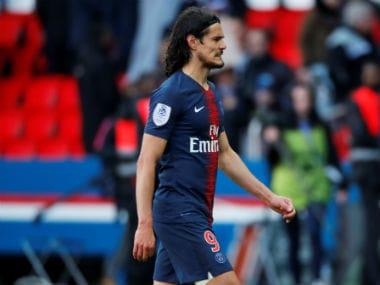 Ligue 1: Paris Saint-Germain striker Edinson Cavani misses stoppage-time penalty in scrappy draw with Nice