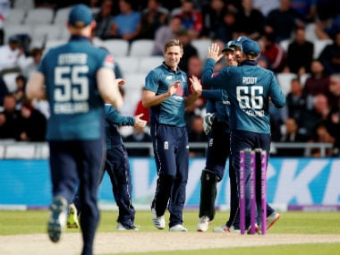 England vs Pakistan: Chris Woakes's five-for helps hosts complete 4-0 rout with 54-run win in final ODI