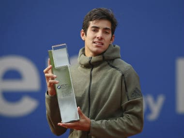 Munich Open: Cristian Garins remarkable breakthrough continues as Chilean beats Matteo Berrettini to win second ATP title