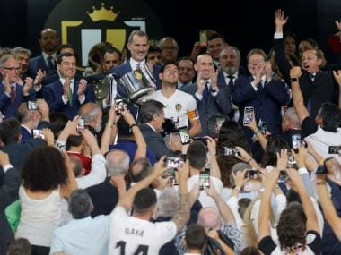 Copa del Rey: Valencia register thrilling 2-1 victory over deflated Barcelona to win first trophy since 2008