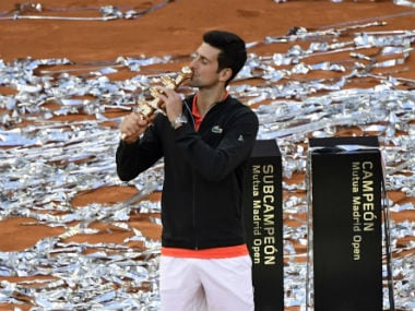 Madrid Open 2019: Inspirational Novak Djokovic strolls past Stefanos Tsitsipas to claim 33rd Masters title