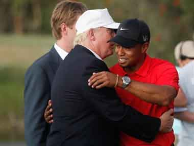US President Donald Trump to present Tiger Woods with Presidential Medal of Freedom after comeback Masters win