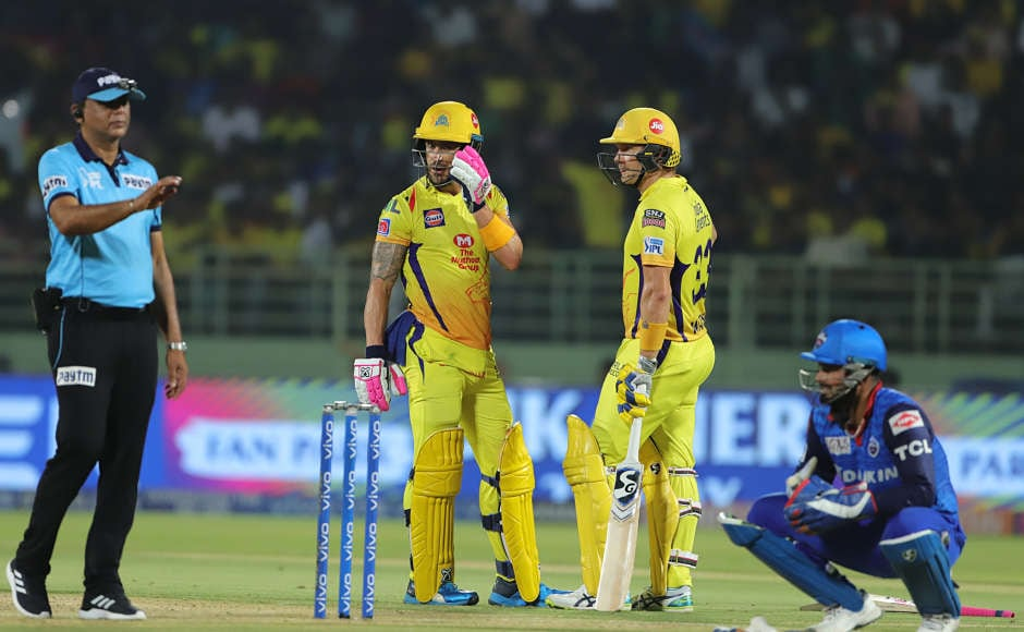 Faf du Plessis and Shane Watson scored fifties as Chennai Super Kings (CSK) defeated Delhi Capitals (DC) in the Indian Premier League (IPL) 2019 Qualifier 2 to reach the final for the eighth time. They will face Mumbai Indians on Sunday. Sportzpics