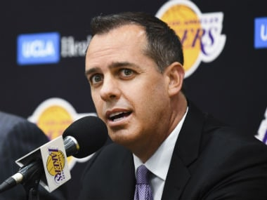 NBA: New Los Angeles Lakers coach Frank Vogel calls for a sense of 'togetherness' in wake of team's downward spiral