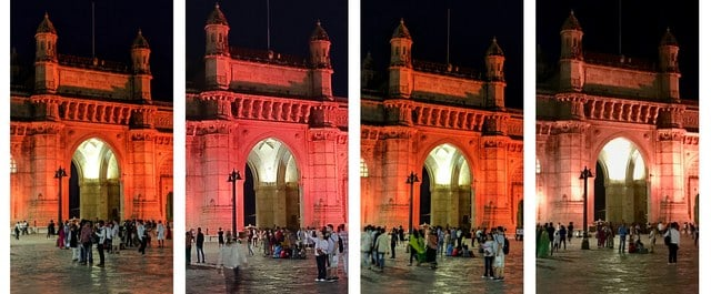 The Pixels delivered way better colour accuracy when it came to the night mode. (Click to expand) L to R: Pixel 3a XL, OP6T, Pixel 3, iPhone 7