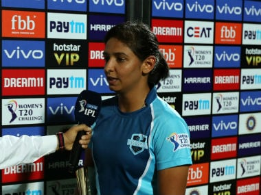 Harmanpreet Kaur added that she learnt a lot from the inaugural edition of the Women's T20 Challenge. Sportzpics