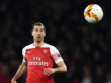 Europa League: Arsenal concerned as Henrikh Mkhitaryan could miss final against Chelsea due to political tensions