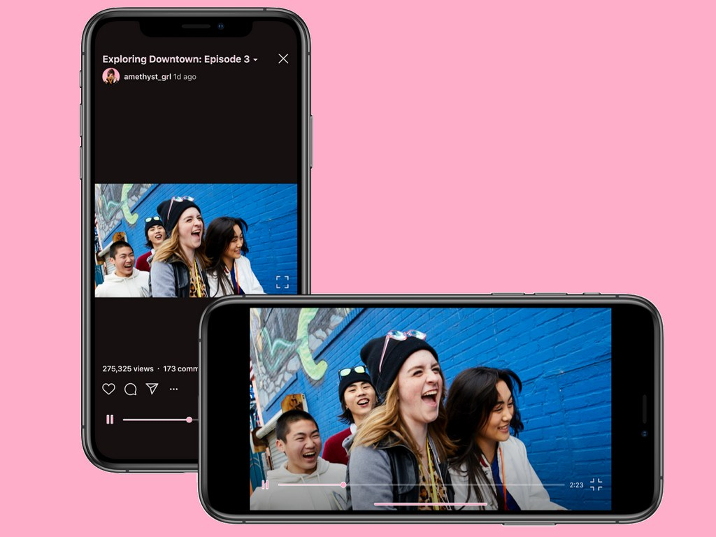 Instagram gives up IGTVs portrait-only format, you can now upload horizontal videos too