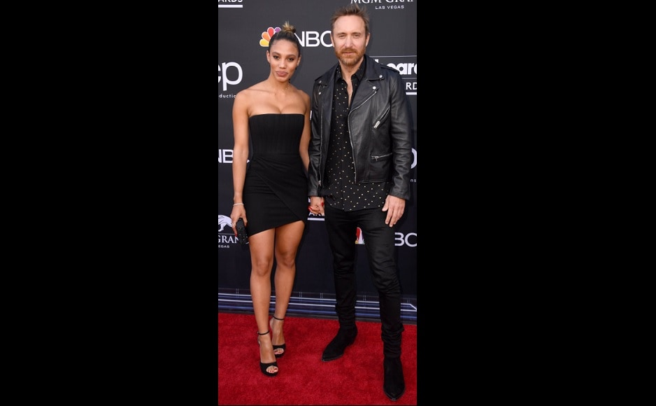 Jessica Ledon and David Guetta attended the 2019 Billboard Music Awards together at the MGM Grand Garden Arena, on 1 May.