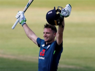 Jos Buttler blasted his way to an unbeaten 110 off just 55 balls in the second England-Pakistan ODI. Reuters