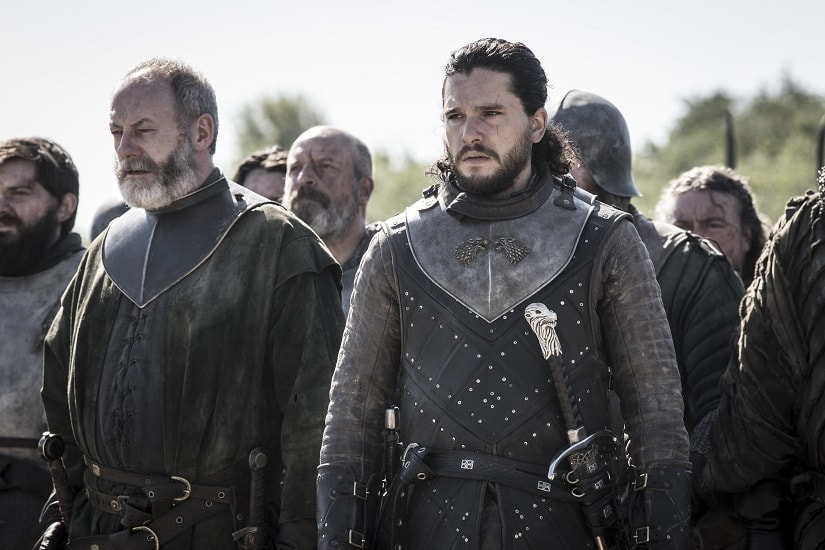 Still from Game of Thrones season 8 episode 5. Image courtesy Helen Sloan/HBO