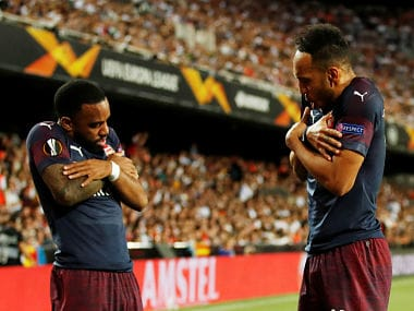 Europa League: Arsenal thrash Valencia 7-3 on aggregate to set up all-English final with London rivals Chelsea