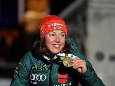 Germanys double Olympic biathlon champion Laura Dahlmeier announces retirement at 25 after struggling with health issues