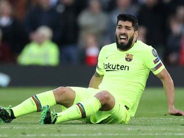 LaLiga: Barcelonas Luis Suarez set to miss Copa del Rey final, last two league games after undergoing knee surgery