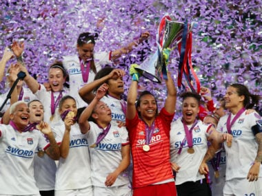 Womens Champions League: Ada Hegerbergs hat-trick helps Lyon hammer Barcelona 4-1, win fourth consecutive title