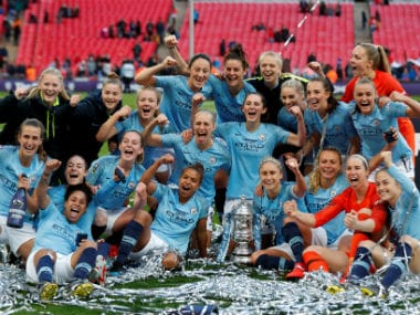 Women's FA Cup: Manchester City wrap up domestic double with comfortable victory over valiant West Ham United