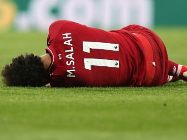 Premier League: Liverpool face anxious wait for news on gravity of Mohamed Salahs head injury