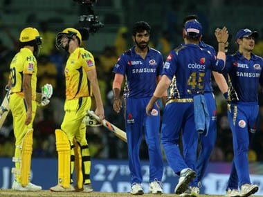 Mumbai Indians beat Chennai Super Kings by 46 runs when the two sides met in April. Image Courtesy: SportzPics