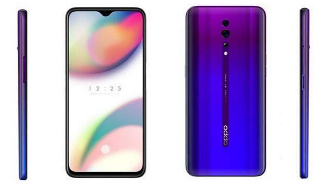 Oppo Reno Z unveiled featuring an AMOLED display, 48 MP camera and 3,950 mAh battery