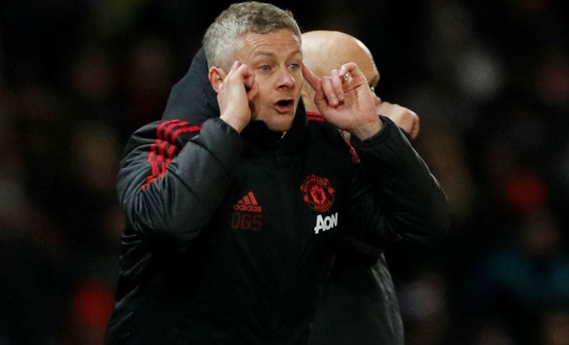 Ole Gunnar Solskjaer has a lot of work to do. Reuters