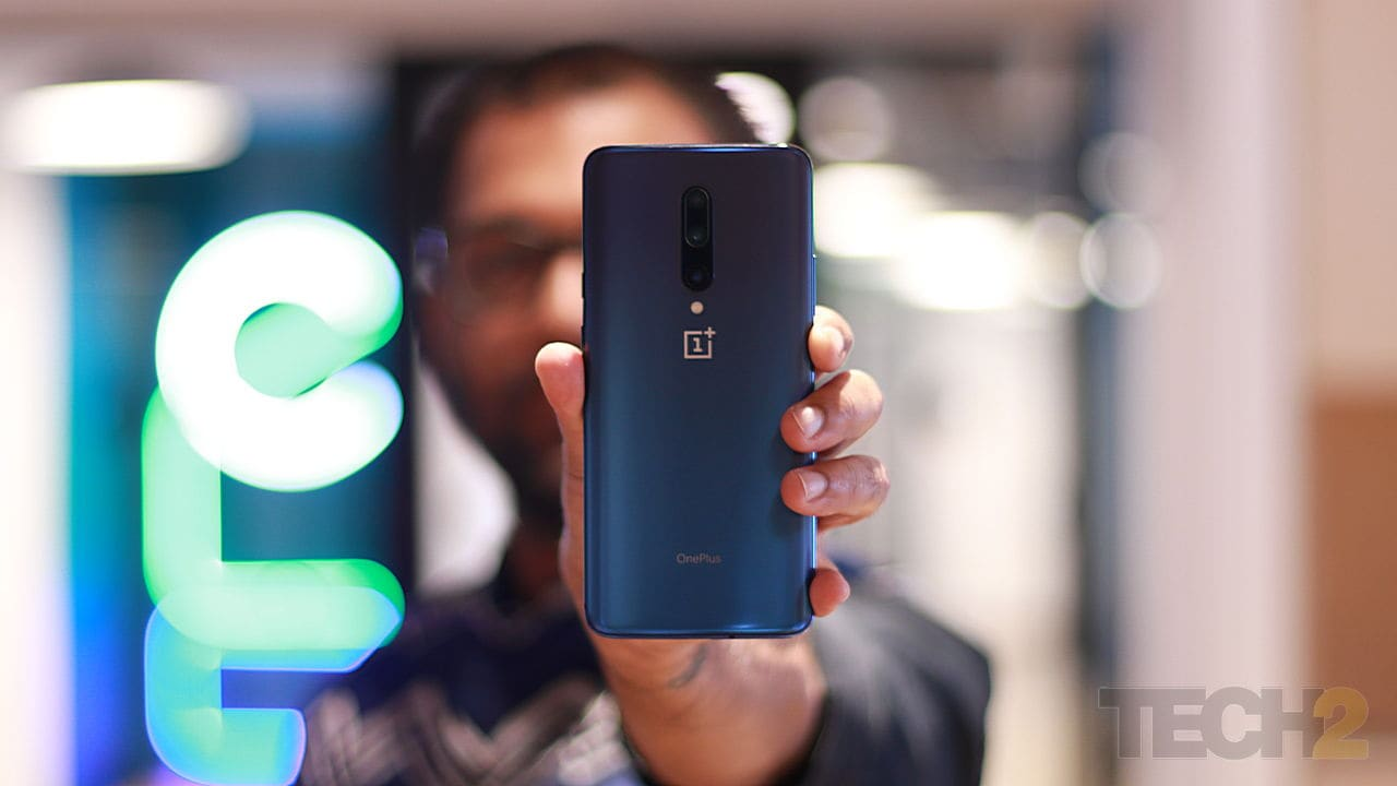 The OnePlus 7 Pro is definitely the best phone OnePlus has made till date, but the competition is still ahead. Image: tech2/ Prannoy Palav