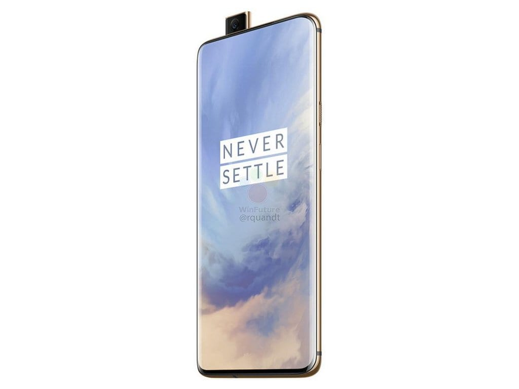 OnePlus 7 Pro reportedly leaks in Almond colour variant in all its glory