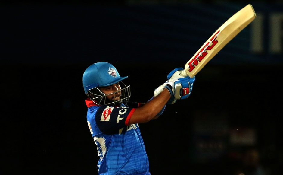 19-year-old Prithvi Shaw got Delhi Capitals off to an excellent start, scoring 56 from 38 balls. Image Courtesy: SportzPics