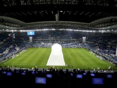 Dohas 5-million Al Wakrah stadium hosts domestic cup final ahead of FIFA World Cup 2022 in Qatar