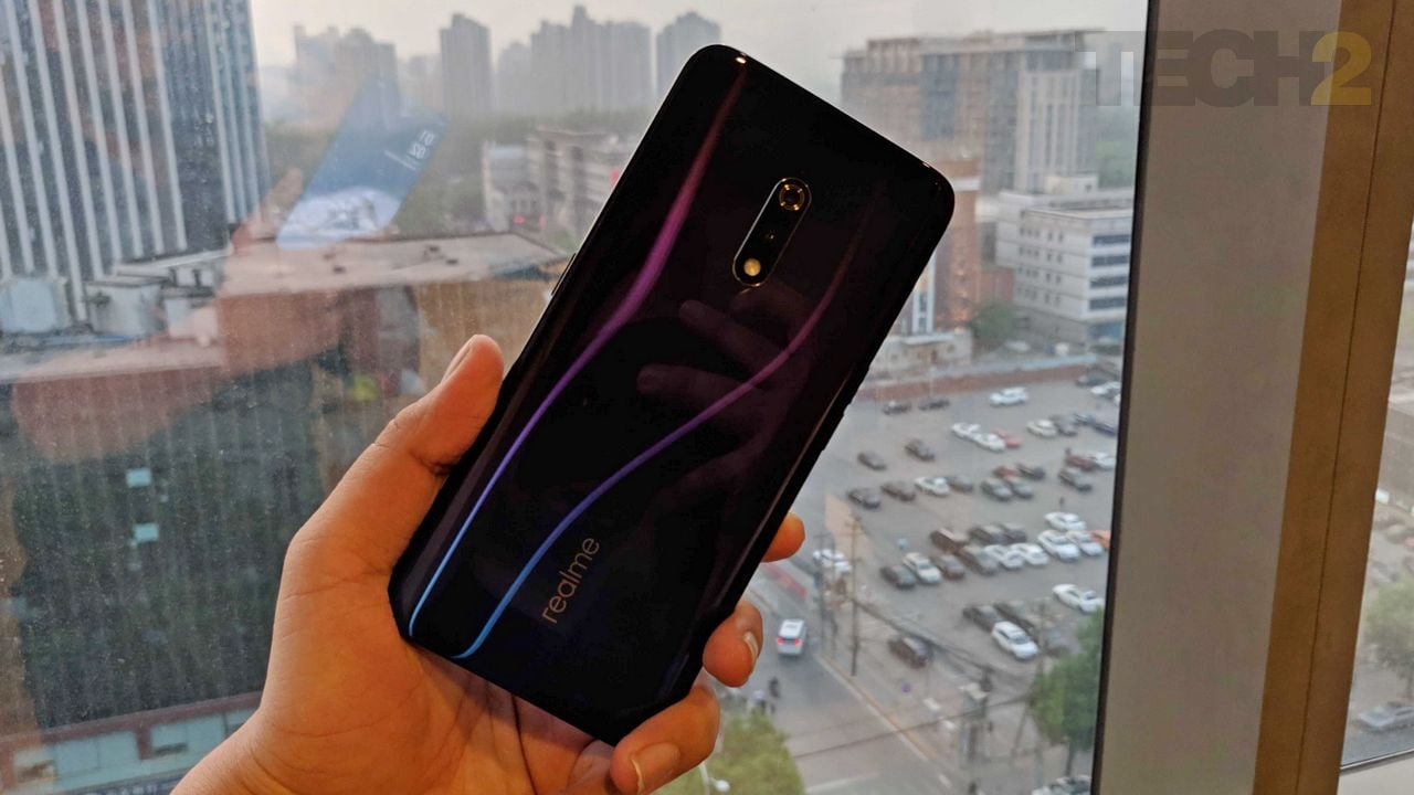 The Realme X has been launched in China in two colours. Image: tech2/ Kshitij Pujari