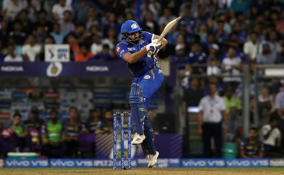 KKR were limited to a score of 133 runs, which the Mumbai Indians managed to outdo in 16 overs. Rohit Sharma played an important role in the chase, striking up decent partnerships with Quinton de Kock and Suryakumar Yadav to take MI into the playoffs in pole position. Image Courtesy: SportzPics