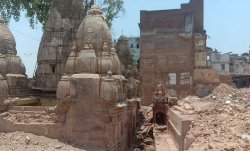 Varanasi locals unhappy with demolitions taking place in temple town due to ongoing Corridor project