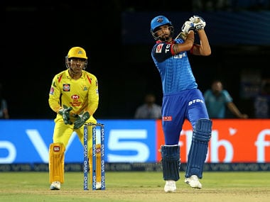 Ishant Sharma of Delhi Capitals in action against Chennai Super Kings. Sportzpics