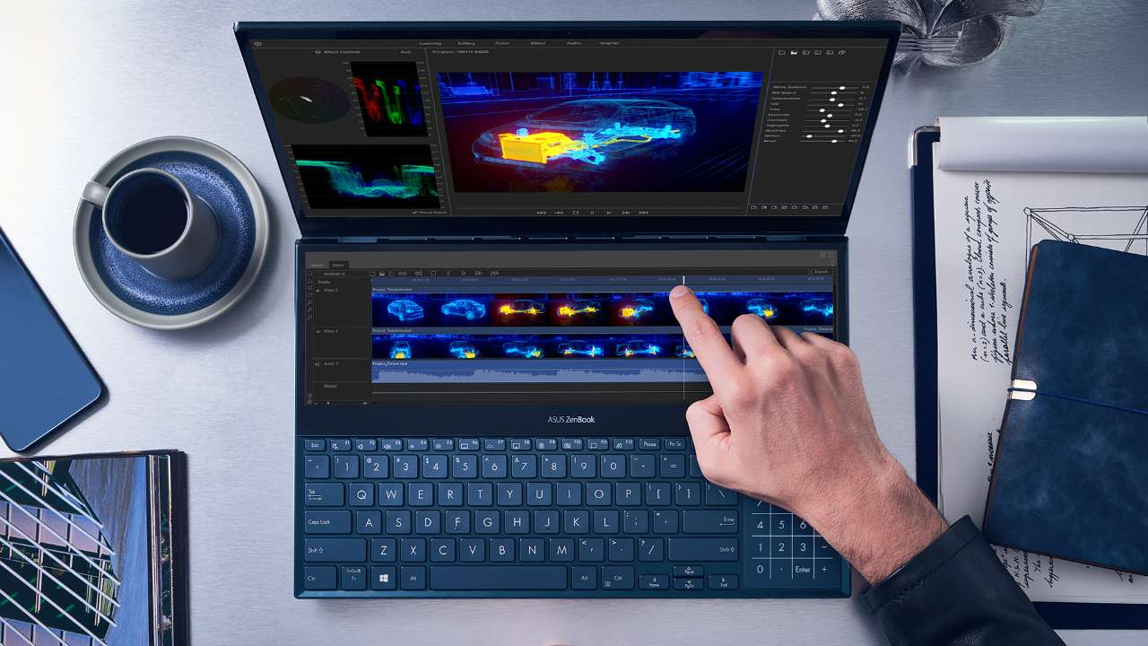 ASUS unveils the ZenBook Pro Duo (UX581) with ScreenPad Plus secondary display
