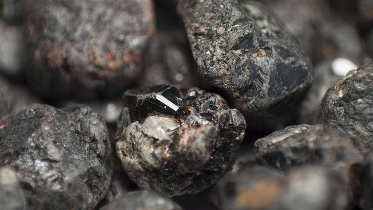 Tin comes from the ore cassiterite. Image credit; Shutterstock/PYP